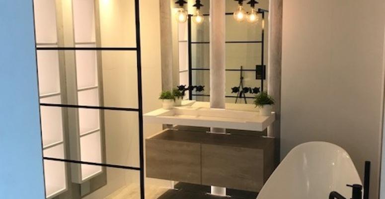 Mooie Moderne Badkamers : Wastafel meubel dubbel cm in een mooie houtlook leuk voor in